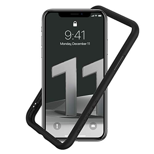 RhinoShield Coque CrashGuard NX Compatible avec [iPhone 11 / iPhone XR] - Personnalisable - Noir