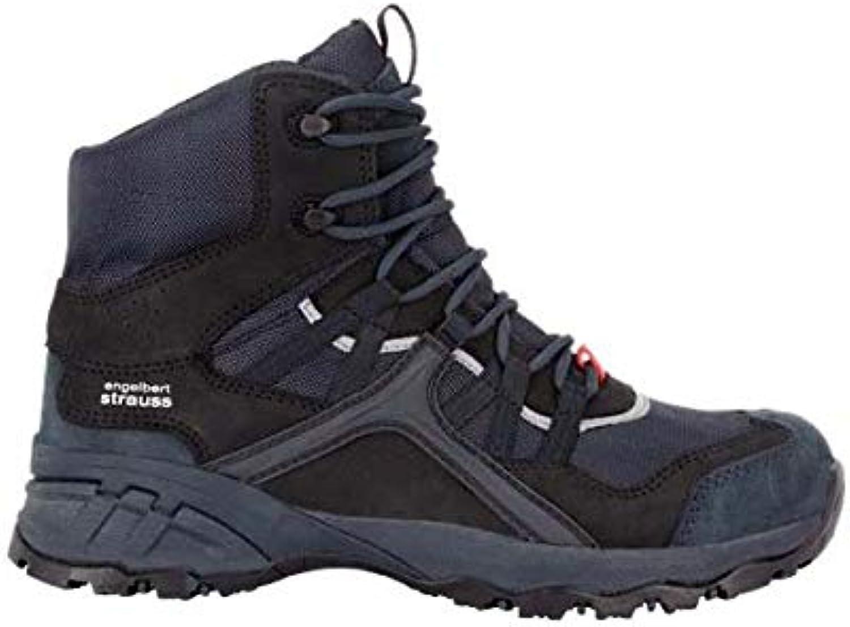 Enjauneert Strauss 8P93.61.4.43 Pallas Mid, 43 Chaussures de sécurité Noir saphir