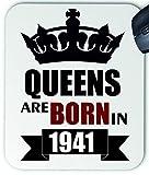 11011 Queens are Born in 1941 Tapis de souris en tissu
