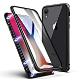 iPhone XR Case,ZHIKE Magnetic Adsorption Case Front and