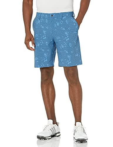 adidas Golf Men's Standard Flat Front, Focus Blue, 38