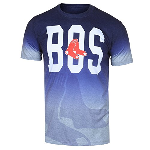 Boston Red Sox Gray Gradient Tee Large