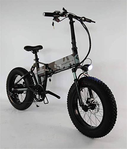 Bicicletas Eléctricas, Mens adultos Bici de montaña plegable eléctrico, aleación de aluminio...