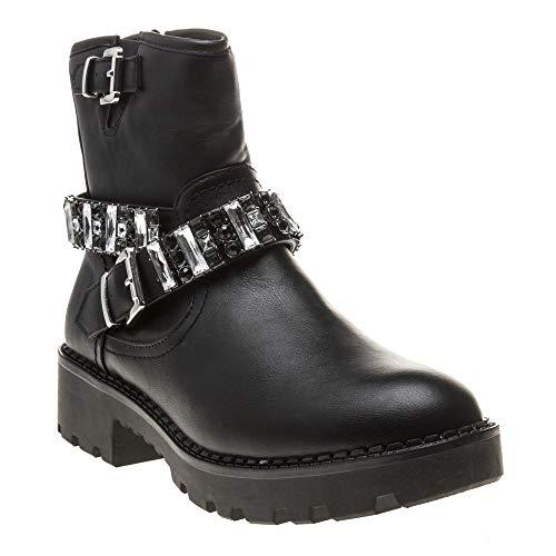 Buffalo Damen Fallon Stiefeletten, Schwarz (Black 001), 41 EU