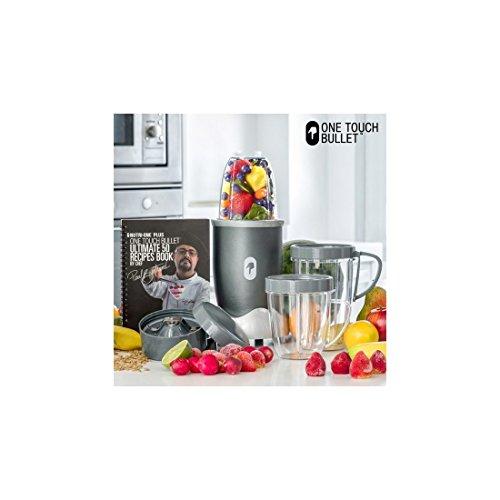 Appetitissime Nutri One Plus - Licuadora con recetario, 600 W, color cromo