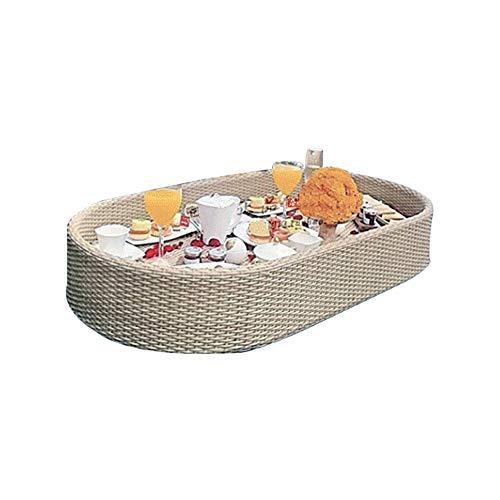 CHEN Schwimmende Serviertabletts Tischbar Oval, Pool Float Partyzubehör, Swimmingpool Floats für Erwachsene für Sandbänke, Spas, Bäder und Partys