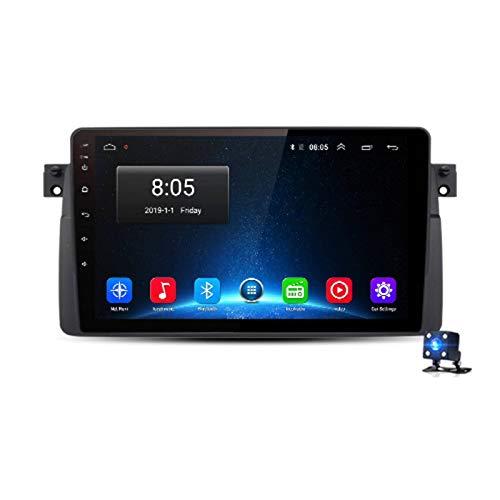 N-B Reprodutor De Vídeo Multimídia De Rádio Do Carro GPS Nenhum 2 Ruído Android 10 2gb + 32gb Awesafe Px9 para BMW M3 E46 Rover 75 MG Zt