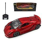 MAZZEO Macchina Telecomandata Modello Lamborghini Sesto Elemento in Scala 1:24 (Red Metal)