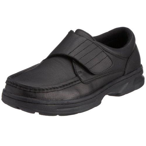 Dr Keller Mens Texas Shoes Black, 10 UK