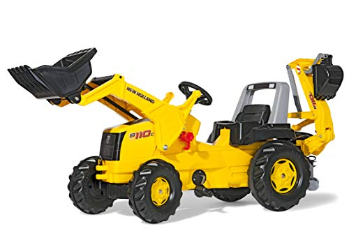 ROLLY TOYS 813117 - Veicolo a Pedali Junior New Holland Construction