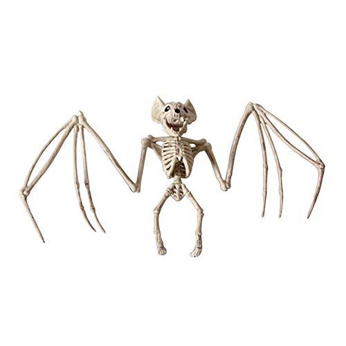 Majome dier skelet model vleermuis/kikker/hagedis botten halloween partij decoratie