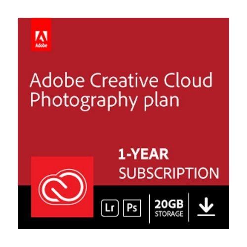 Adobe Creative Cloud Photography Plan 1-year subscription