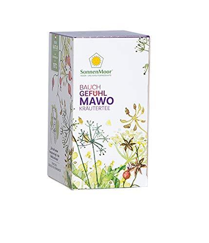 SonnenMoor Bauchgefühl MAWO Kräutertee im Filterbeutel 36 g - ausgleichender Tee im praktischen Filterbeutel