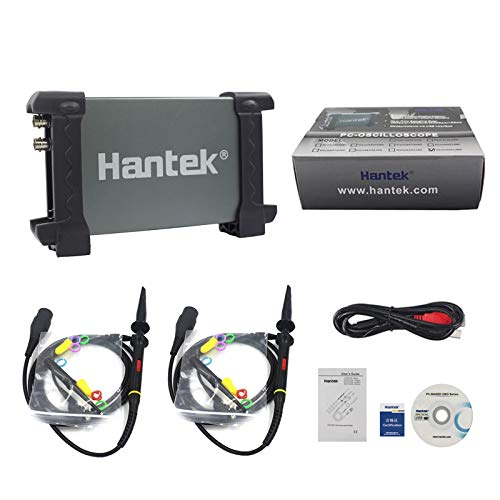 Hantek 6022BE osciloscopio 2ch USB de almacenamiento digital 20mhz PC/S
