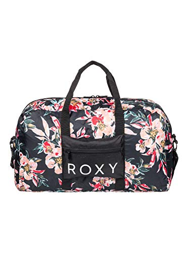 Roxy SO Are You, Bolsa de tela para guardarla. para Mujer, Color gris antracita Wonder Garden S, Large