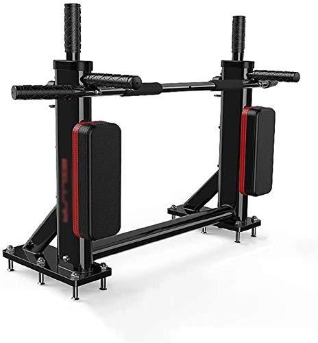 Dominadas ejercicios en casa gimnasio portátil Pull-up bar multifuncional con mosca anillo montado en la pared del soporte con la bolsa de arena Hook Inicio Equipo de entrenamiento de fuerza pesa 300