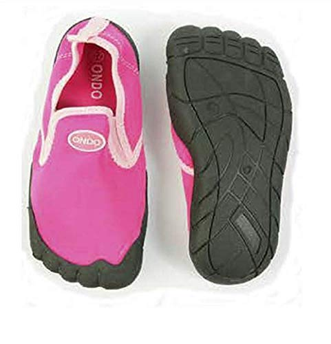Escarpines de Agua para Niños Calzado Playa Zapatillas Deportes Acuáticos Zapato Deportivo (Rosa, Numeric_32)
