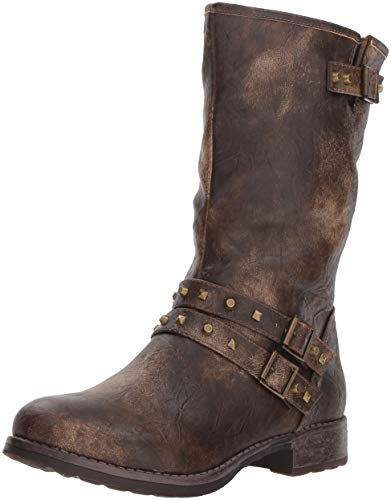 Dirty Laundry by Chinese Laundry Women's Talia Motorcycle Boot, Brown, 9.5 M US