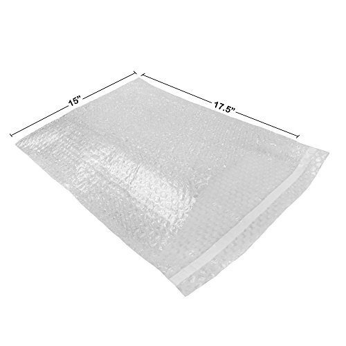 StarBoxes 50 Bubble Out Bags 15x17.5' - #8 Wrap Pouches Envelopes Self-Sealing