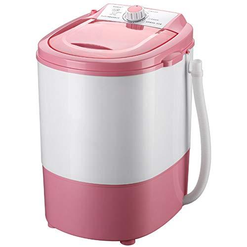 JCOCO Mini machine à laver semi-automatique miniature, conception compacte portable avec fonction de chronométrage Capacité de lavage antibactérienne de 4,5 kg Blu-ray Adapté à la chambre à coucher Sa