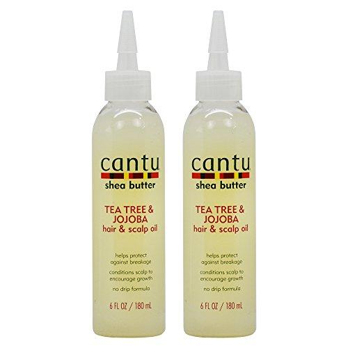 Cantu Shea Butter Tea Tree & Jojoba Hair & Scalp Oil, 6 oz by Cantu