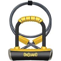 ONGUARD Pitbull Mini DT 8008 D Lock Bike Combination Black
