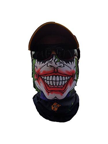 Salt Armour Original SVoKI Jester Halstuch Maske Schal Schlauchtuch Kälteschutz Gesichtsmaske Halloween Motorrad Ski Snowboard Jagen Angeln Fahrrad Paintball