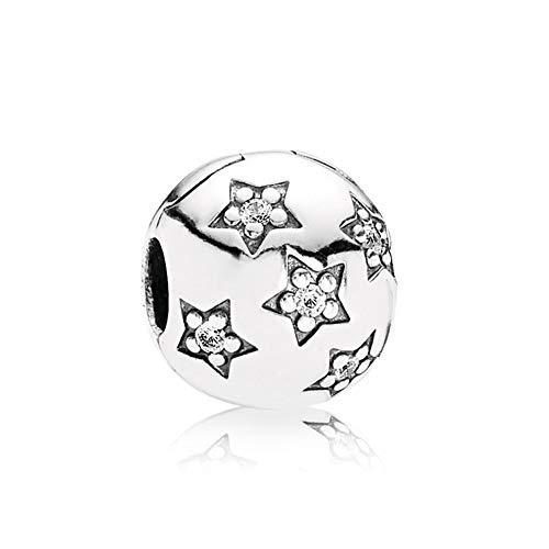 925 Plata Tía Cuentas Twinkleclip Encanto Moda Mujer Pandora Pulsera Brazalete Regalo Diy Joyería Regalo De Navidad Para Novia