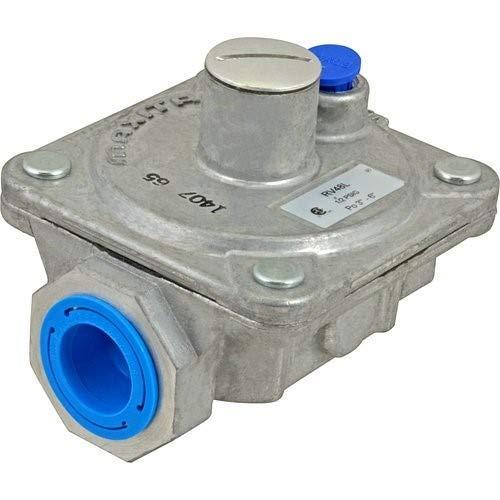 "WOLF 1/2"" NPT Natural Gas Pressure Regulator 3"" to 6"" Water Column Range 712371"