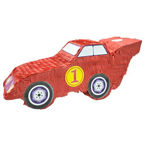 Trendario Pinata Auto, Ideal zum Befüllen mit Süßigkeiten und Geschenken - Piñata für Kindergeburtstag Spiel, Geschenkidee, Party, Hochzeit