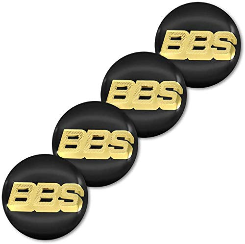 Cubiertas de cubo de centro de 4 ruedas para BBS RM RZ RG RS 56mm, cubierta de decoración de rueda impermeable y a prueba de polvo con logotipo de automóvil