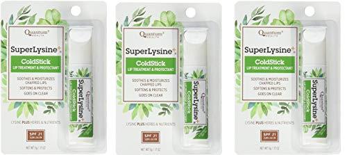 small Super Lysine Plus + ColdStick SPF 21 Regular 0.18 oz (3 packs), from Quantum Research