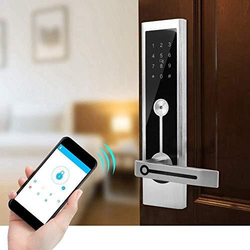 Rosvola Cerradura WiFi, Cerradura de Puerta Inteligente electrónica de Pantalla...