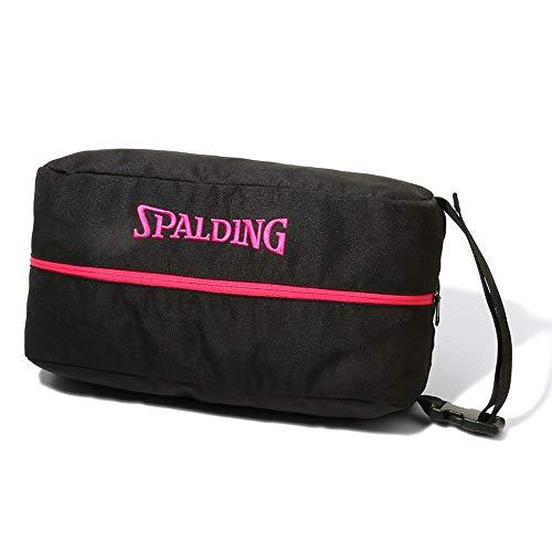 SPALDING(スポルディング) バスケットボール シューズバッグ ピンク 42-002PK バスケ バスケット 38×19×14�p