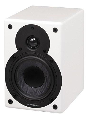 Scansonic sc-s3-active btl-w-Paar aktive Lautsprecher Bluetooth 2x 20W weiß