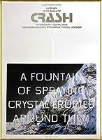 ポスター エドワード ルッシェ Fountain of Crystal 2009 額装品 アルミ製ベーシックフレーム(ゴールド)
