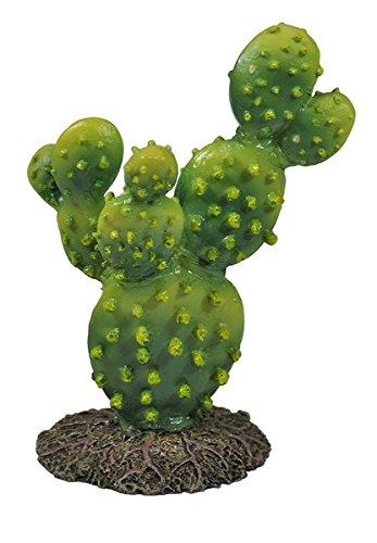 Happet Terrarium Deko Kaktus Serie, künstliche Kakteen für Terrariendekoration, Terrariumpflanze für Ihr Terra oder Aquarium als Dekoration (U043-13 cm)