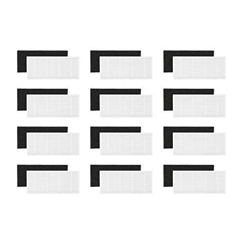 KYVOL – Juego de 12 filtros HEPA con esponjas de repuesto para...