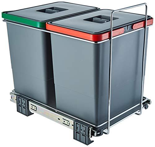ELLETIPI Ecofil PF01 34 C2 Papelera para Reciclaje extraíbl