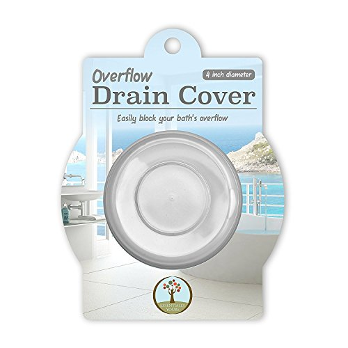 Essentially Yours Deeper Bath Overflow Drain Cover - Increase Bathtub Water Levels