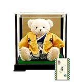 【プティルウ】はかまを着たテディベア「袴ベア」(ケース入り) 端午の節句 子どもの日 出産祝い