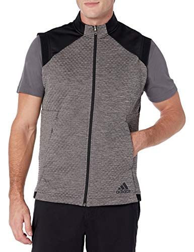 adidas Golf Cold.Rdy Chaleco, Gris Tres Melange, Grande