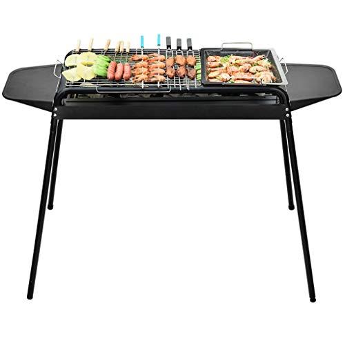 YIFEI2013-SHOP Griglia Barbecue Stufa for Barbecue da Giardino con griglia a Carbone di Grandi Dimensioni Barbecue Grill