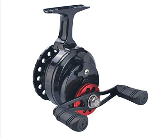 QAZWSX Fishing Reel,High-Foot Raft Wheel Raft Fishing Wheel Wheel Raft Rod Wheel Front Wheel Fishing Winter Fishing Fishing Reel,left hand