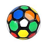 Aufblasbare Fußbälle, 6 Inch Aufblasbarer Trainingsball, PVC Softfußball, Outdoor Fussbal Spiel...