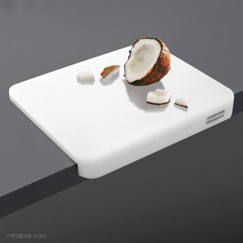 Franke - Placa corte alimentario 3025 30x25x1,5 blanco