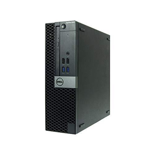 Dell Optiplex 5040-SFF, Core i7-6700 3.4GHz, 16GB RAM, 512GB Solid State Drive, DVD, Windows 10 Pro 64Bit (Renewed)