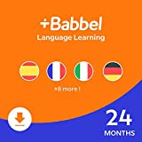 Babbel: Learn a New Language - 24 Month Subscription for iOS, Android, Mac & PC [PC/Mac Online Code]