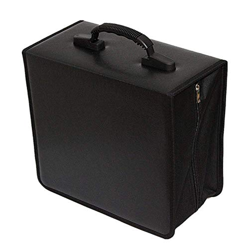 Penlonda Disc CD DVD Bluray Storage Holder Solution Binder Sleeves Carrying Case((400 Capacity))