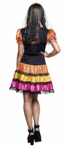Costume ragazza Nina Pelona Dia de los Muertos (14-16 anni)